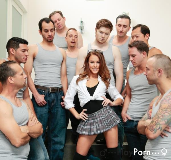 Blowjob From 10 Guy - Megan Rain