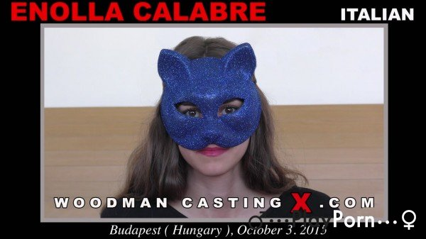 Shy Girl In Mask On Porn Casting - Enolla Calabre