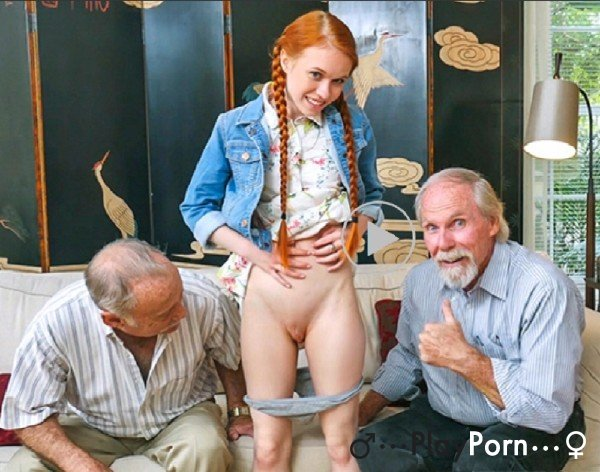 Two Old Grandfather Seduced A Young Neighbor Girl - Dolly Little
