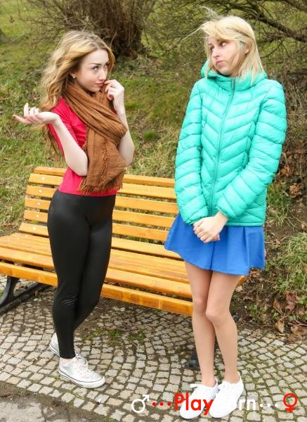 2 Horny Russian Teens Sharing 1 Dick - Vlada B, Ellen H