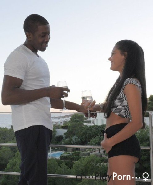 Wihte Teen Have Date With Black Man - Apolonia