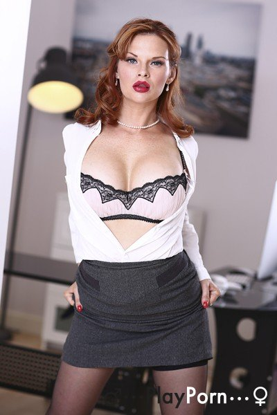 Anal Fuck With Hot Secretary - Tarra White