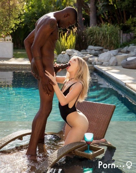 Tender Blonde First Time Fuck With BBC - Arya Fae