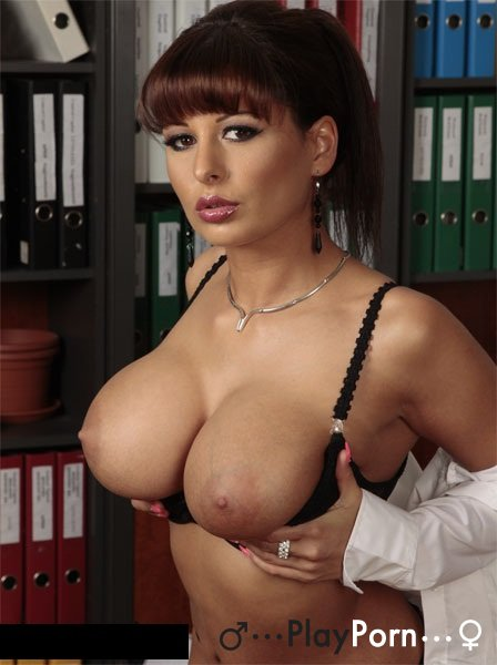 Fuck Hot Secretary With Big Tits - Alison Star