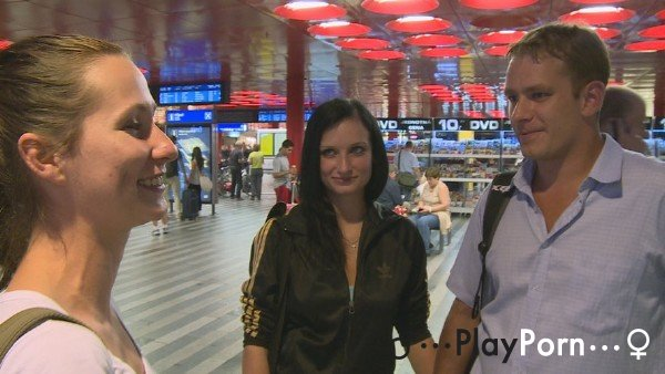 Sex At The Airport For Money - Amateur