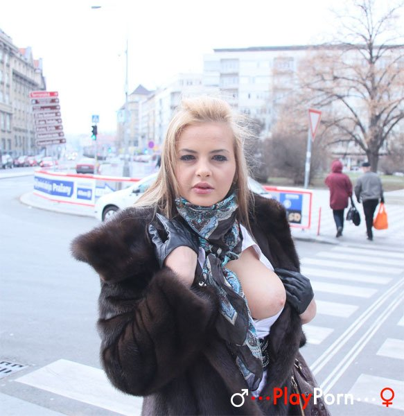 Pickup Russian Girl With Big Boobs - Candy Alexa