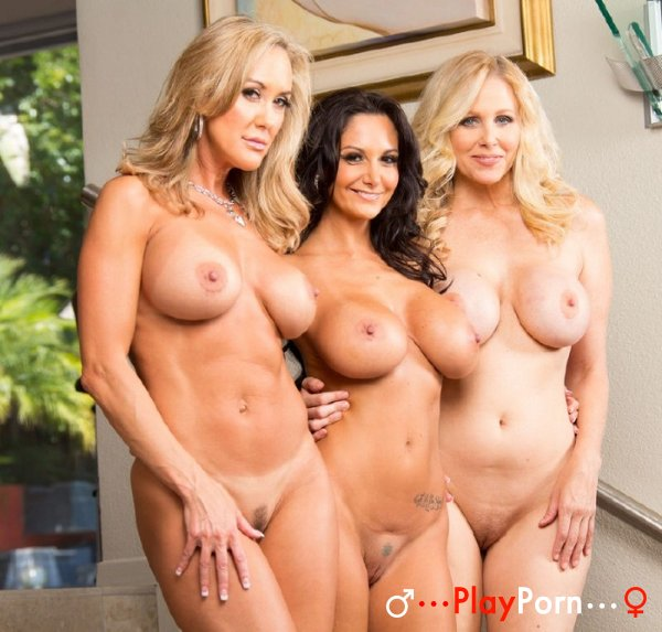 Sex With Three Hot Milf - Julia Ann, Brandi Love, Ava Addams