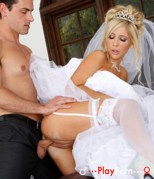Fuck With Bride In A Wedding Dress - Tasha Reign