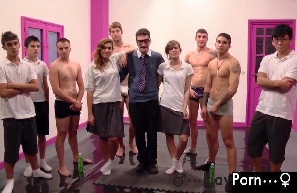 School Orgy With Teacher - Jordi