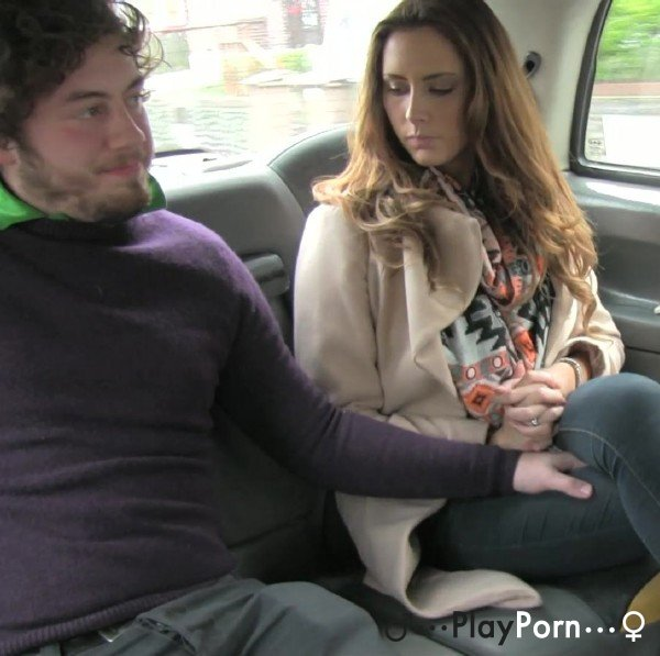 Couple Have Sex In Taxi On Back Seats - Hazel And Jack