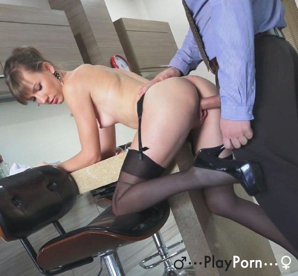 Boss Fuck New Secretary Girl - Angel Desert