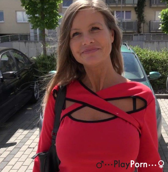 Mature Undressed For Money On The Street - Amateur