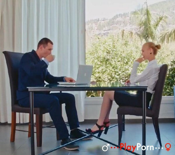 Beautiful Sex With Elegant Girl in Stockings - Nancy A