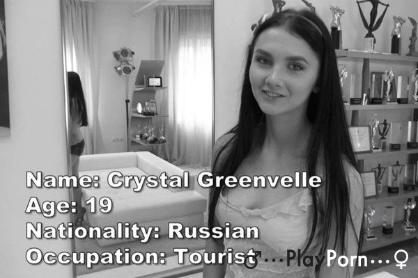 Russian Teen Gang Bang - Crystal Greenvelle