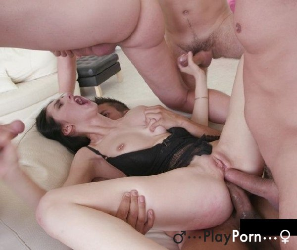 Two Dick Gang Bang In The Ass - Crystal Greenvelle