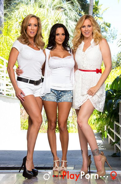 Three Hot Milf Fuck One Young Guy - Julia Ann, Brandi Love, Ava Addams