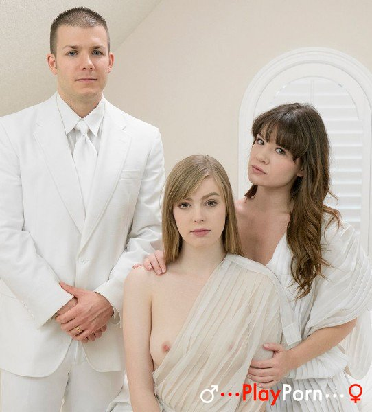 Sex With Two Mormon Girls - Alison Rey and Dolly