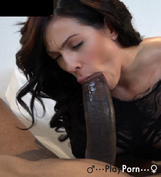 Hot Brunette Girl Try Sex With Huge Black Cock - Harlow Harrison