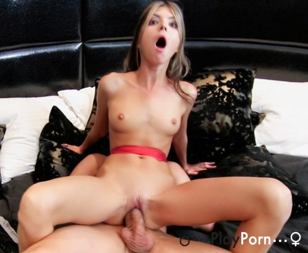 Blind Date Skinny Teen With Big Man - Gina Gerson
