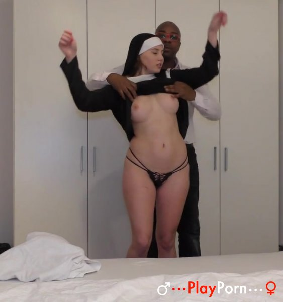 Teen Nun Needs Black Cock - Kacey Levert