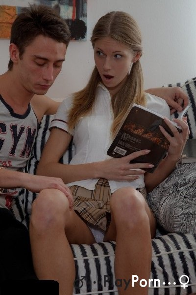 Skinny Russian Teen Couple