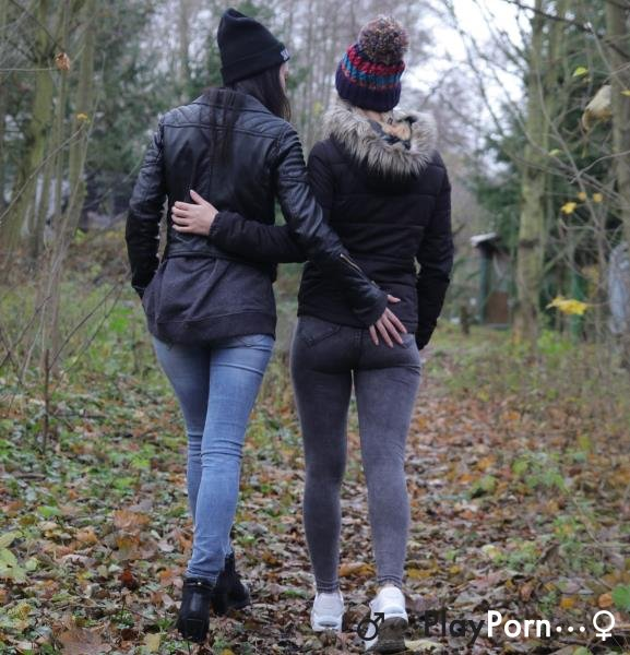 Sweet Euro Teen Lesbian Romance - Anie Darling and Lucette Nice