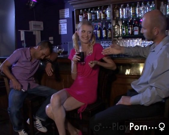 Teen Fucked In The Bar - Sandra