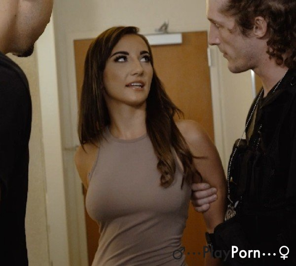Two Officers Fuck Hot Girl - Jade Amber