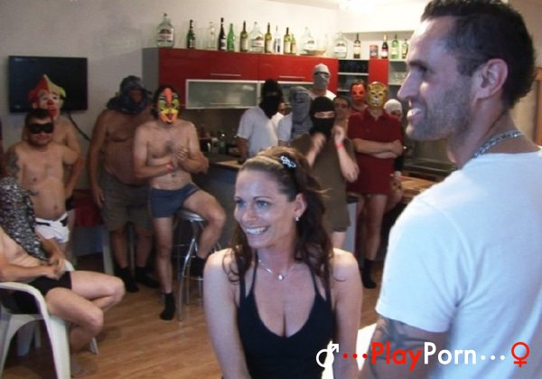 Amateur Wife First Orgy
