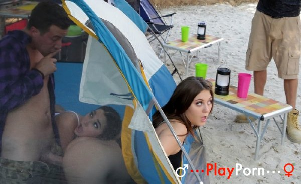 Cheating In The Tent - JoJo Kiss And Karlee Grey