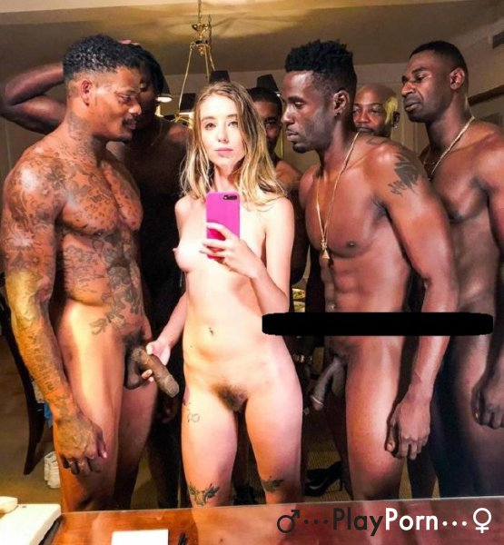 Young College Girl Orgy Fucked By BBC - Haley Reed