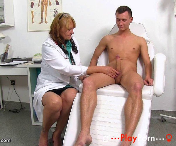 Mature Doctor Checks Young Patient Penis - Glenda