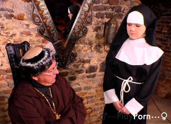 Priest Fucks Young Nun - Amateur