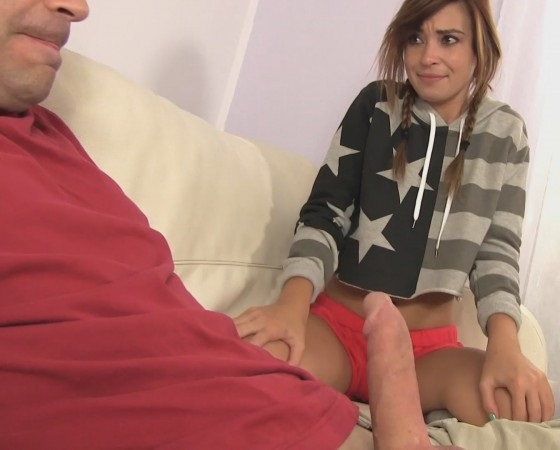 StepFather Show Cock StepSis - Kaylee Haze